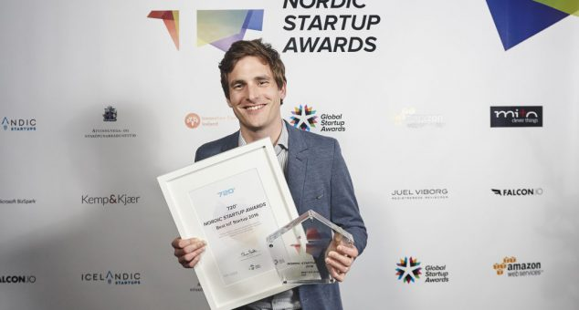 720° awarded Best IoT startup in Nordics
