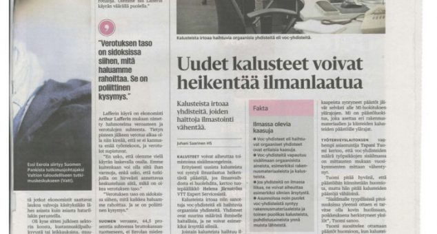 720° Featured in Largeest Finnish Newspaper
